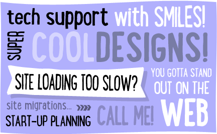 cool web design and web support