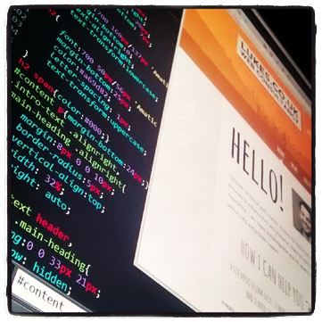 site design and html code